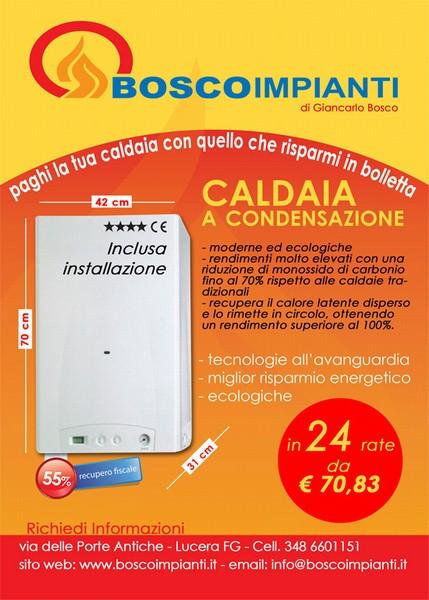 Offerte: Offerta Caldaia a condensazione